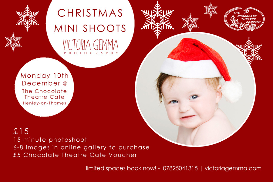I Will Be At The Chocolate Theatre Cafe On Monday 10th December With My Mini Studio Set Up And Lots Of Christmassy Props Ready To Take Cute Festive Pics
